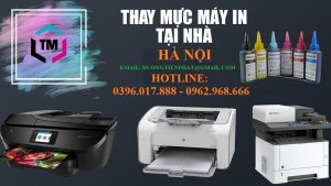 Đổ mực máy in tại Vân Canh