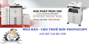 Bán máy Photocopy giá rẻ