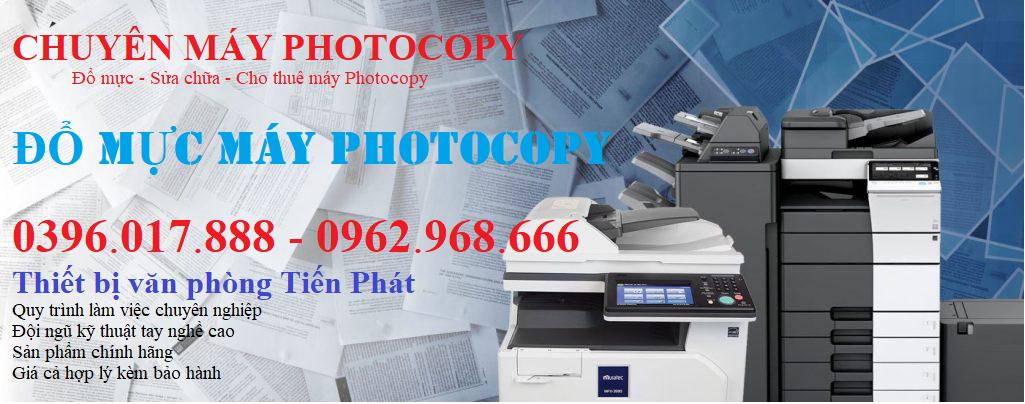Đổ mực máy Photocopy